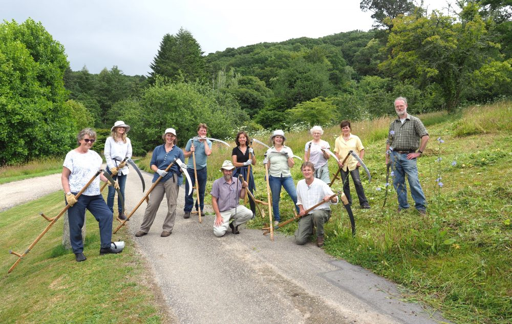 Scything workshop